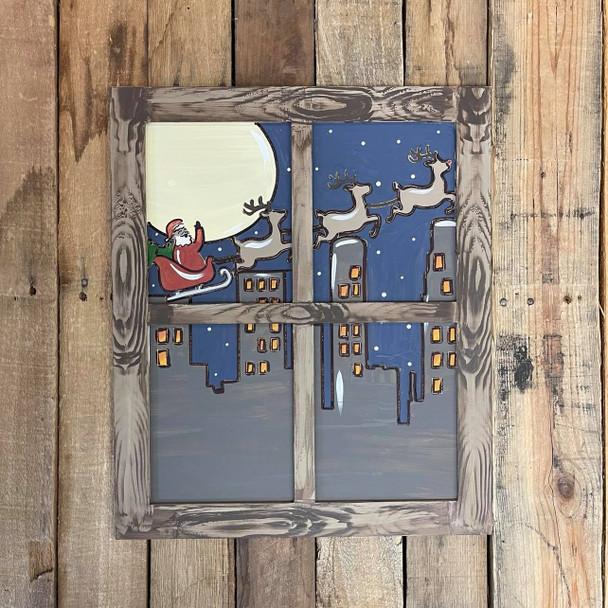 Seasonal Window Pane Kit, Unfinished