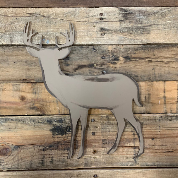 10 Point Buck Unfinished Cutout