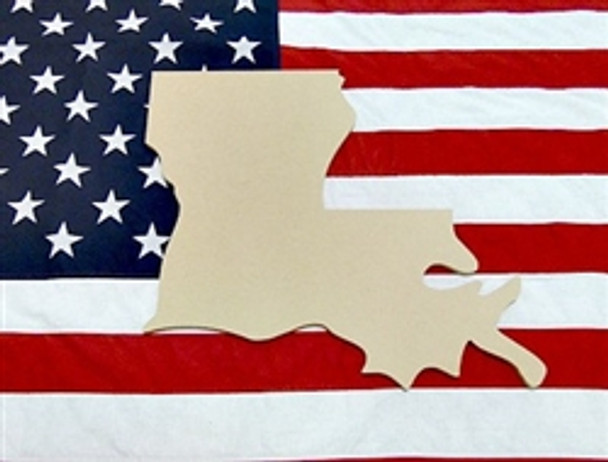 States & Countries, Unfinished Cutout Wooden, Paint-able Wooden MDF DIY Craft