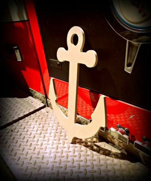 Anchor Unfinished Cutout Paintable MDF