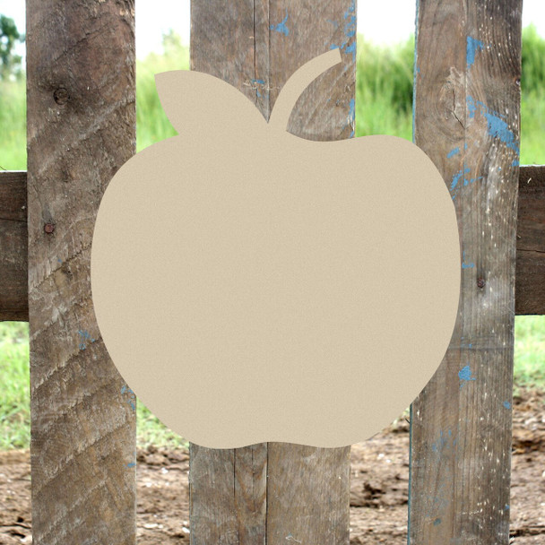 Apple Unfinished Cutout