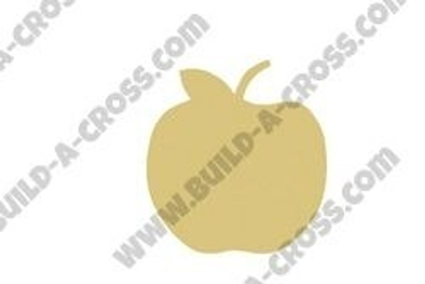 Apple Unfinished Cutout build-a-cross