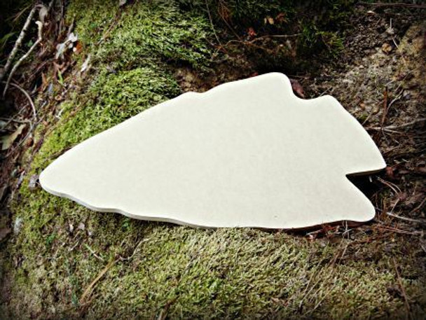 Arrow Head Unfinished Cutout Paintable Wooden MDF