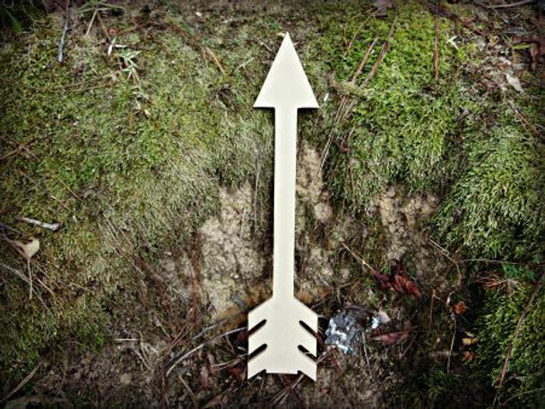 Arrow 5 Unfinished Cutout Paintable Wooden MDF DIY