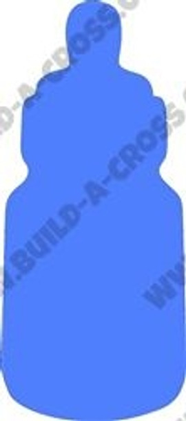 Baby Bottle Unfinished Cutout, Wooden Shape, Paintable Wooden MDF