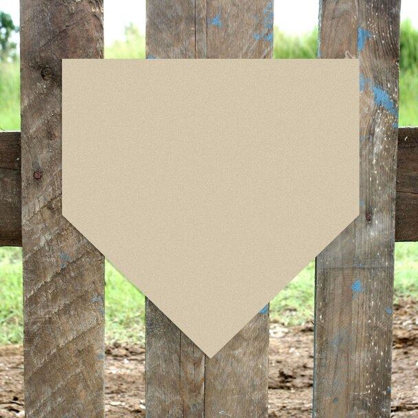 Baseball Home Plate Unfinished Cutout