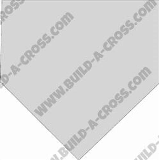 Baseball Home Plate Unfinished Cutout build-a-cross