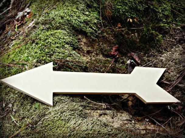 Arrow 6 Unfinished Cutout