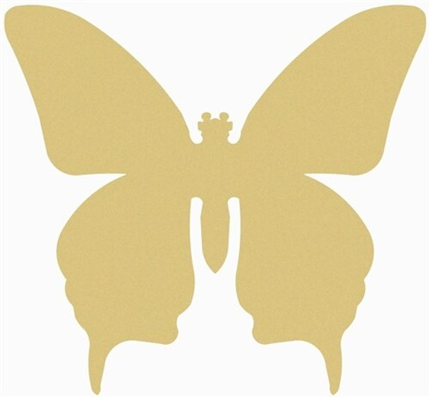 Butterfly Unfinished Cutout Paintable MDF DIY Craft