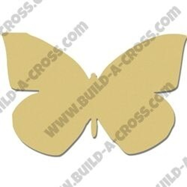 California Dogface Butterfly Unfinished Cutout build-a-cross