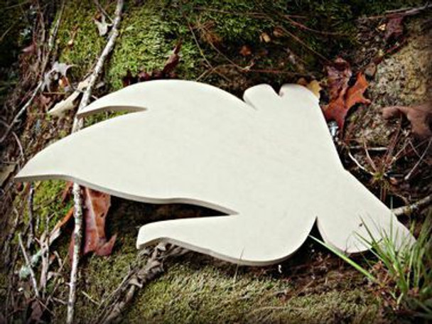 Camp Fire Paintable Wooden Unfinished Cutout