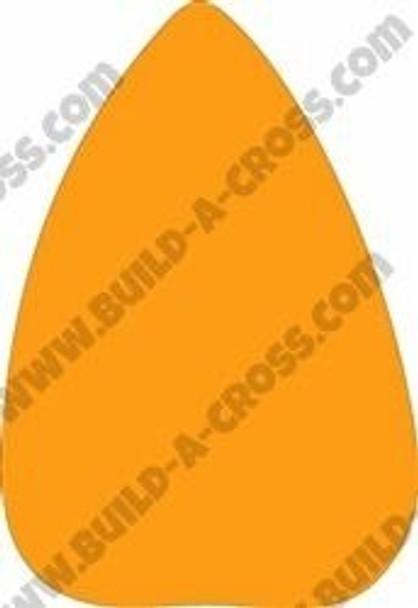 Candy Corn Unfinished Cutout-Got Candy build-a-cross