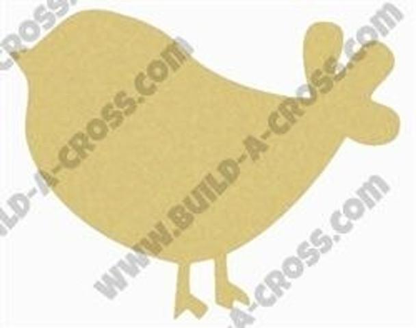 Chick Bird Unfinished Cutout build-a-cross
