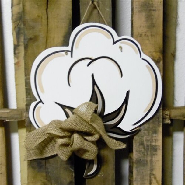 Cotton Unfinished Cutout Paintable Wooden MDF Craft