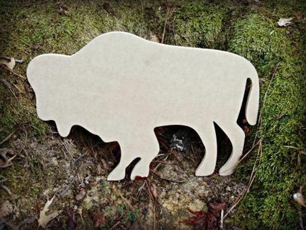 Buffalo Unfinished Cutout