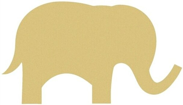 Cute Elephant Unfinished Cutout