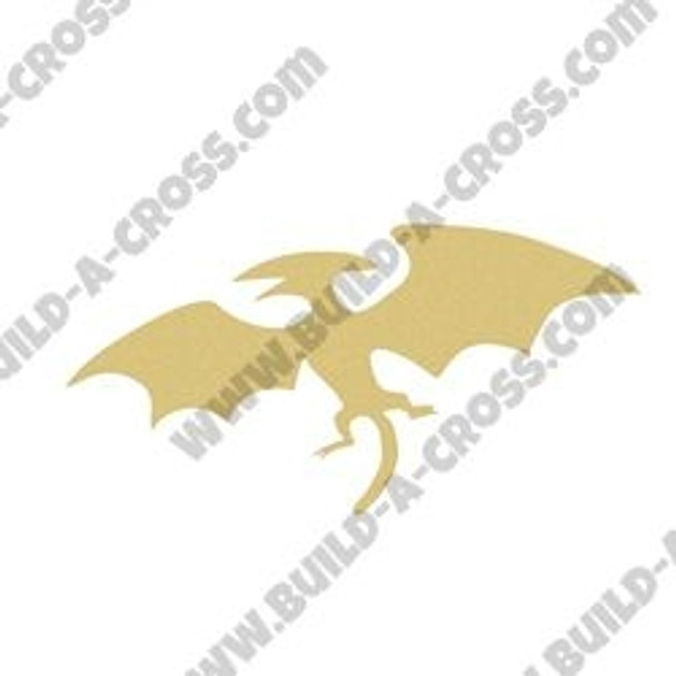Dinosaur Pterodactyl Unfinished Cutout, Wooden Shape, Paintable MDF