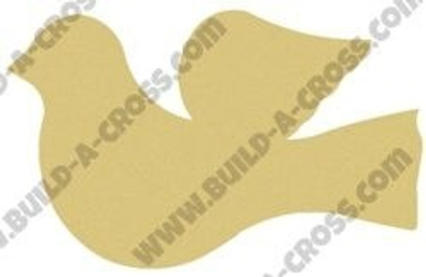 Dove Cut Out Unfinished Wooden Shape build-a-cross