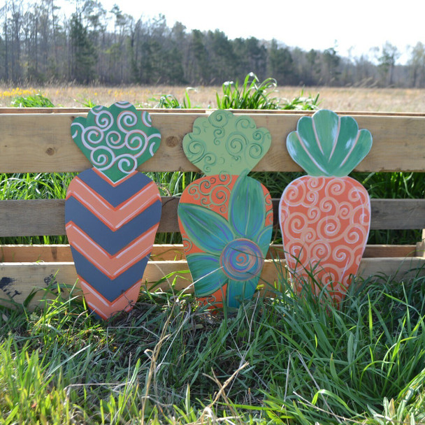 Easter carrot Unfinished Cutout MDF Craft