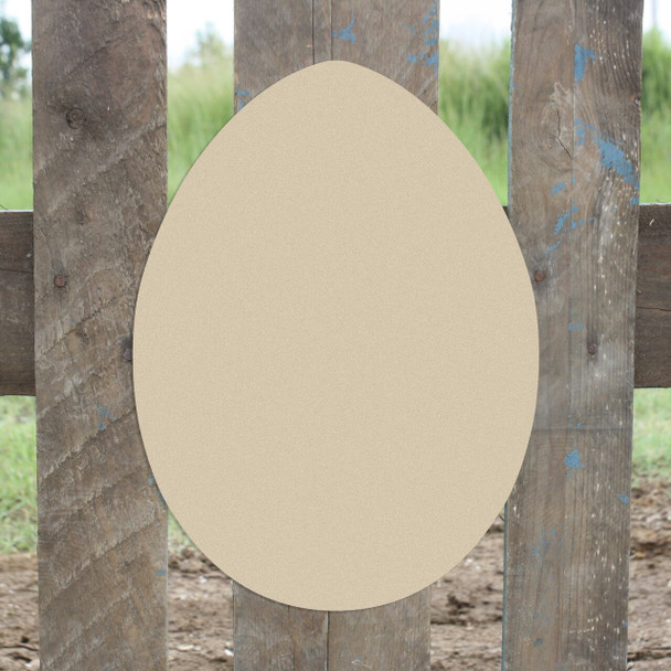 Egg Unfinished Cutout Paintable Wooden MDF DIY Craft