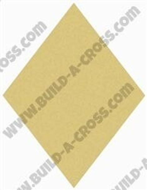 Diamond Unfinished Cutout Paintable MDF Craft build-a-cross