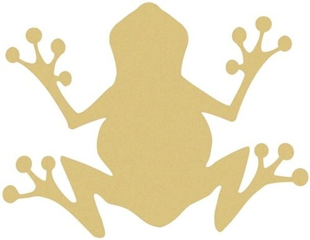 FROG Unfinished Cutout