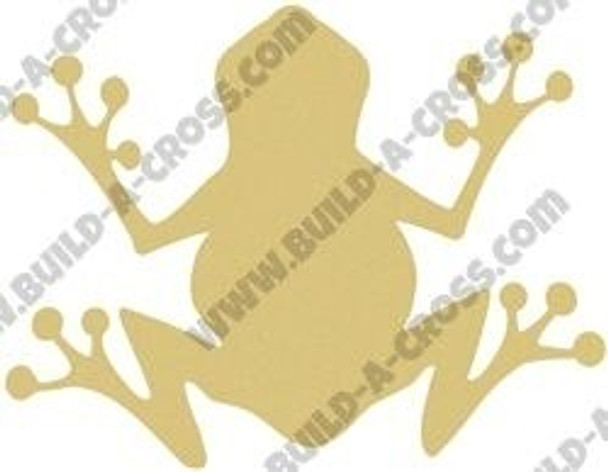 FROG Unfinished Cutout build-a-cross