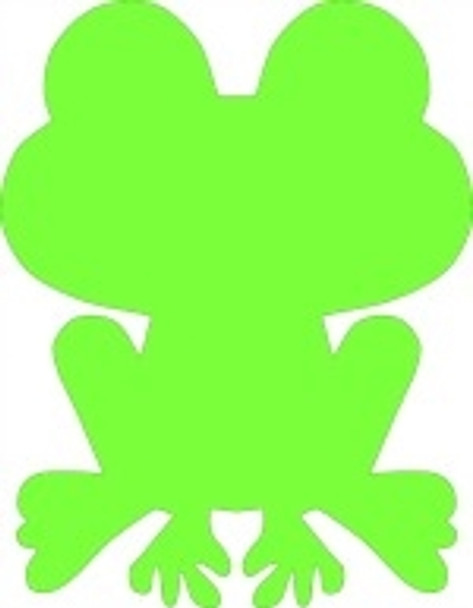 FroggyUnfinished Cutout, Wooden Shape, Paintable Wooden MDF
