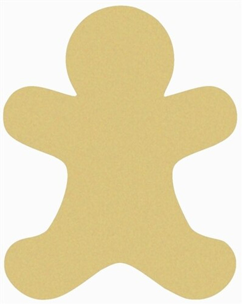 Gingerbread Man Unfinished Wooden Shape