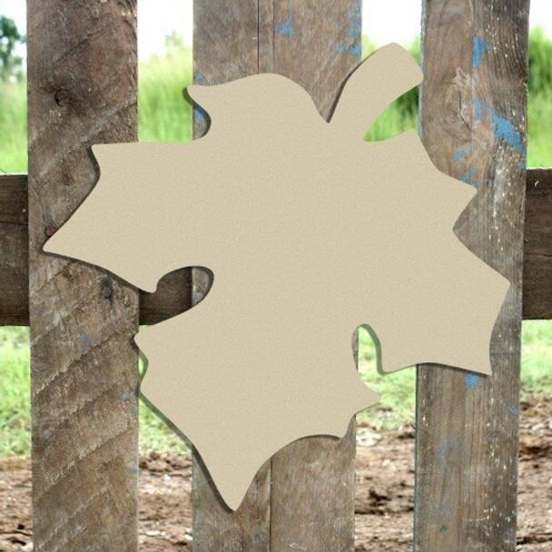 Fall Leaf Unfinished Cutout