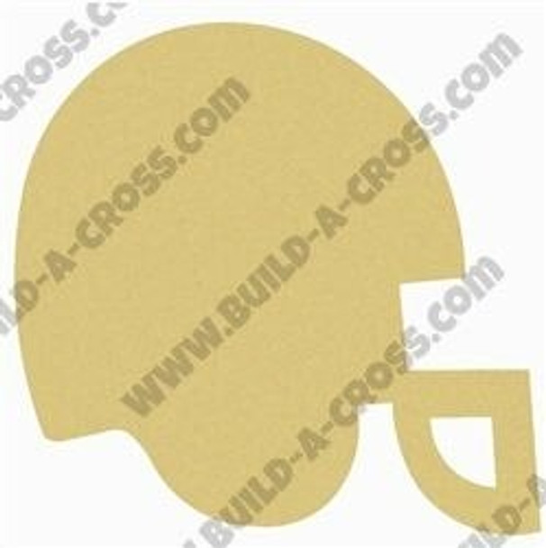 Football Helmet Unfinished Paintable Wooden MDF build-a-cross