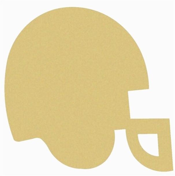 Football Helmet Unfinished Wooden MDF
