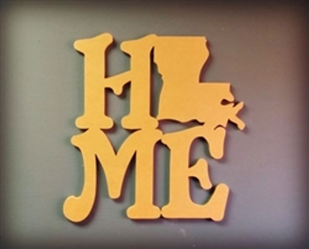 Home State Wall Art Wooden DIY Craft MDF