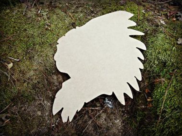 Indian Unfinished Cutout, Wooden Shape, Paintable Wooden MDF DIY Craft