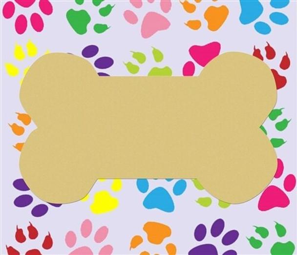 Dog Bone Unfinished Cutout Paintable MDF DIY Craft