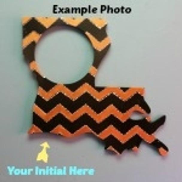 LouisianaFrame Letter Insert Wooden Monogram Unfinished DIY Craft