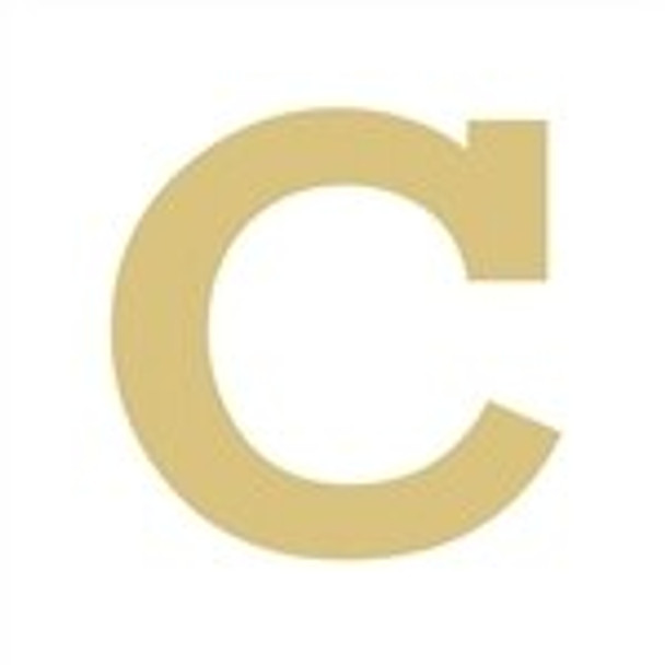 Unfinished Rockwell Wooden Letter-c