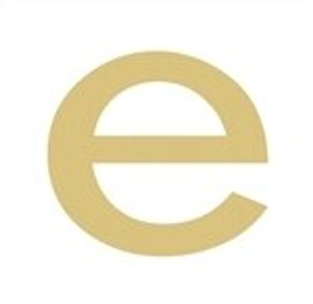Unfinished Rockwell Wooden Letter-e