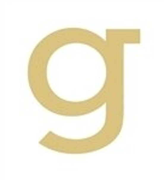 Unfinished Rockwell Wooden Letter-g
