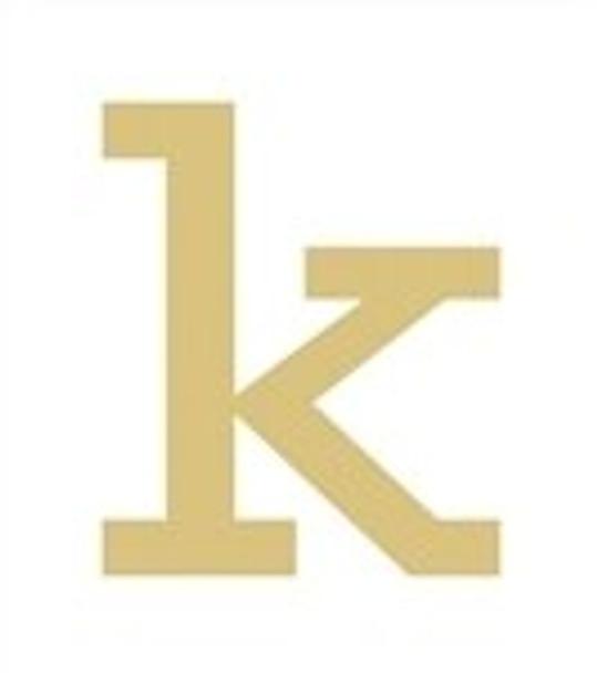 Unfinished Rockwell Wooden Letter-k