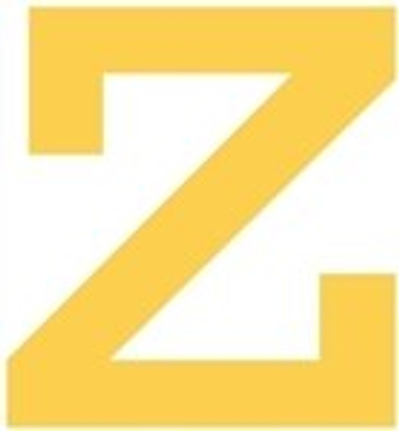 Unfinished Rockwell Wooden Letter-z