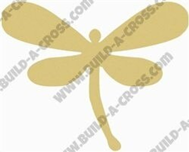 Magical Dragonfly Unfinished Cutout build-a-cross