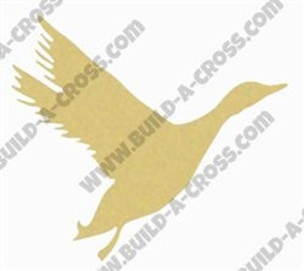 Mallard Unfinished Cutout, Wooden Shape, Paintable Wooden MDF