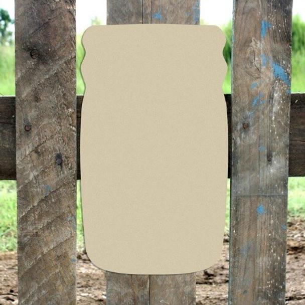 Mason Jar Unfinished Cutout Paintable Wooden MDF