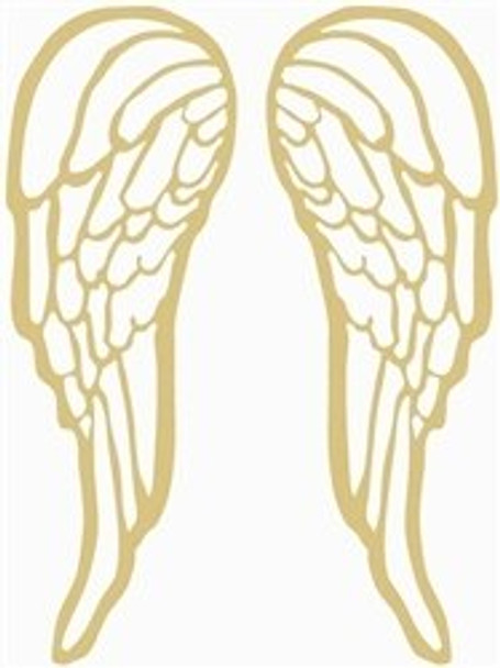 Michael Angel Wings Unfinished Cutout