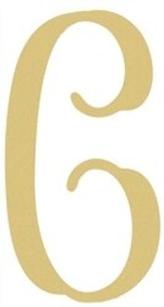 Monogram Lowercase Wooden Unfinished Alphabet Letter Craft-C