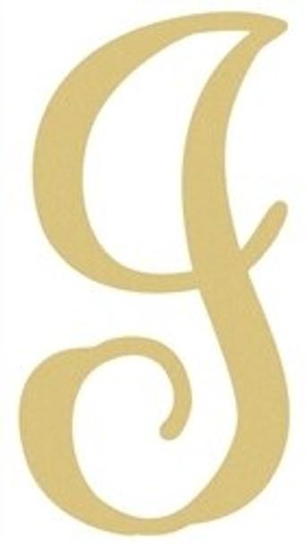 Monogram Lowercase Wooden Unfinished Alphabet Letter Craft-I