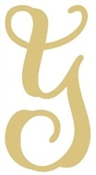Monogram Lowercase Wooden Unfinished Alphabet Letter Craft-Y