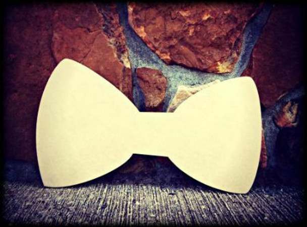 New York Bowtie Unfinished Cutout