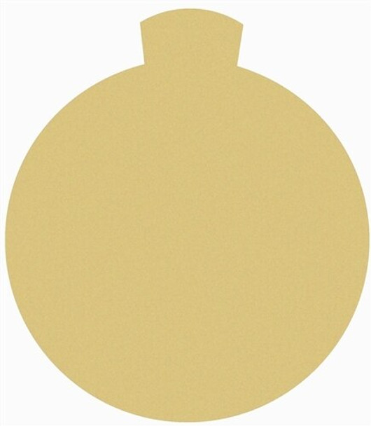 Christmas Ornament 3 Unfinished Cutout Paintable Wooden
